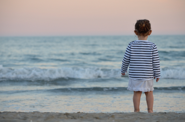Even just a trip to the beach can invoke fear in parents; don't let it!