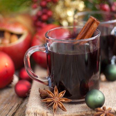 Mulled wine can often be found at Christmas market destinations