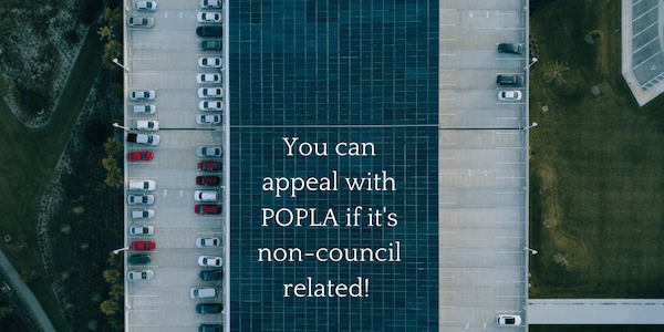 you can appeal with popla
