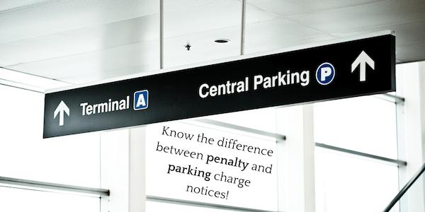airport parking fine
