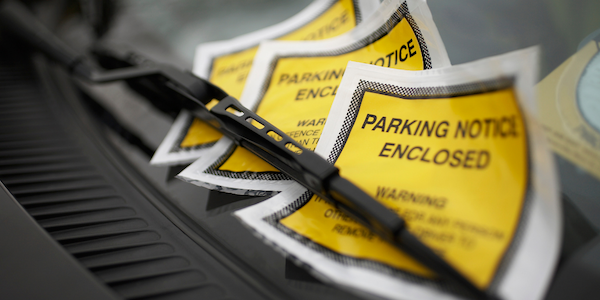 airport parking fines