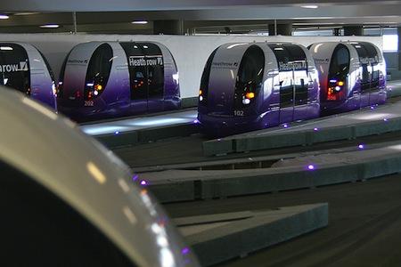 T5 parking pods