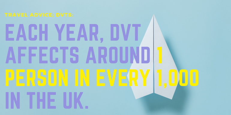 EACH YEAR, DVT AFFECTS AROUND 1 PERSON IN EVERY 1,000 IN THE UK.
