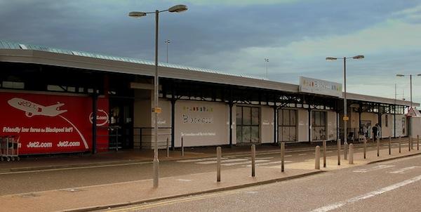Blackpool Airport Closed