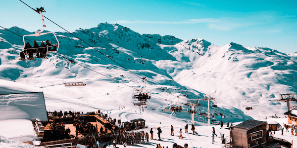 Best ski resorts in Europe - Courchevel, France