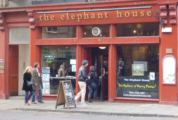 Edinburgh Elephant Cafe Harry Potter