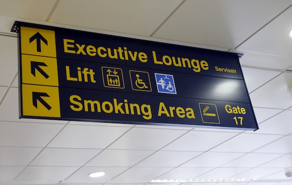 East Midlands Airport Changing Places facility includes a hoist, changing bench & room for carers