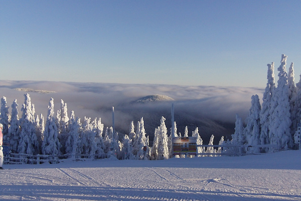 High above the clouds at Mont Tremblant
