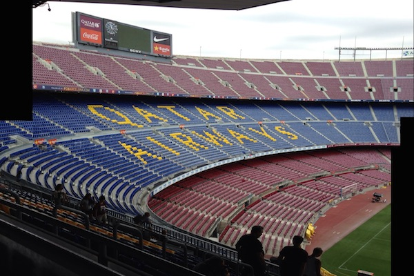 Barcelona's sporting arena - the Nou Camp
