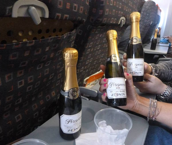 Prosecco on the Plane, anyone?