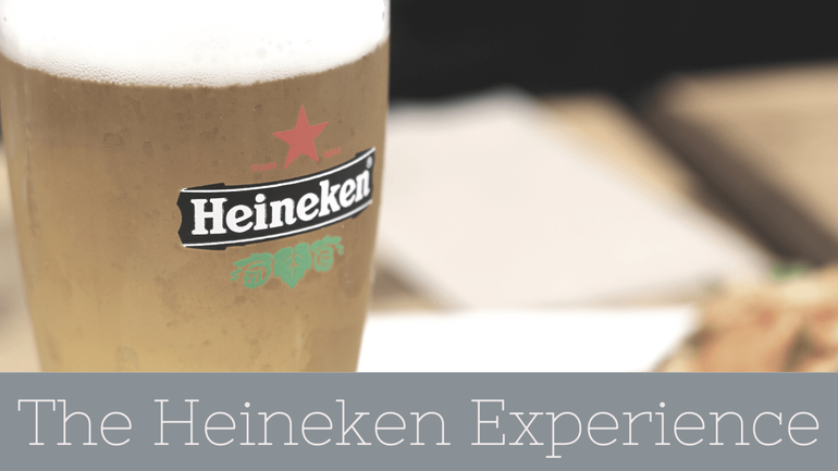 A trip to the Heinekin Experience is a must for your 3 days in Amsterdam