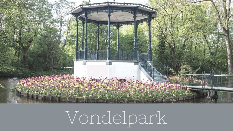 Trying to decide where to stay on your 3 days in Amsterdam? Anywhere near Vondelpark is highly recommended