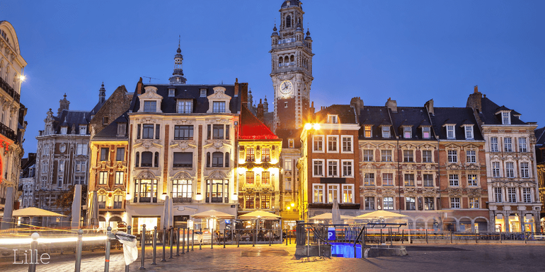 Lille, one of the best cities in northern France to visit