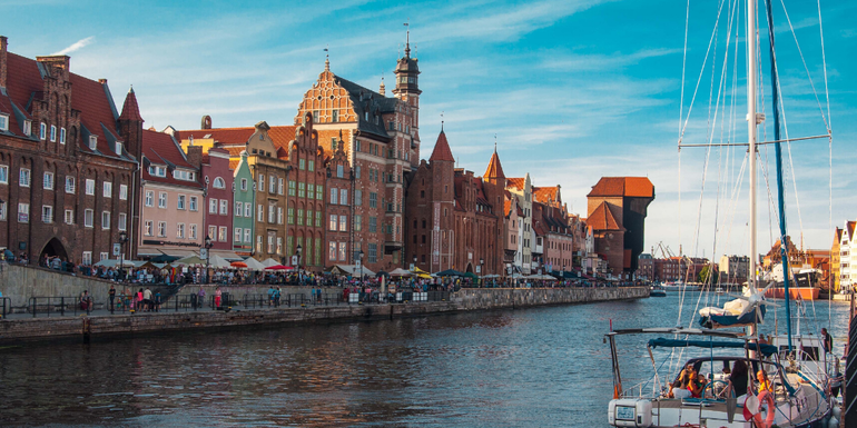 Gdańsk is great for a weekend away in Poland