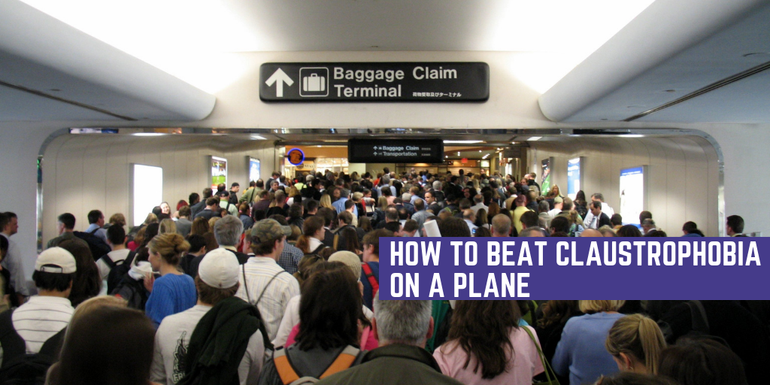 Our tips on how to beat claustrophobia when flying