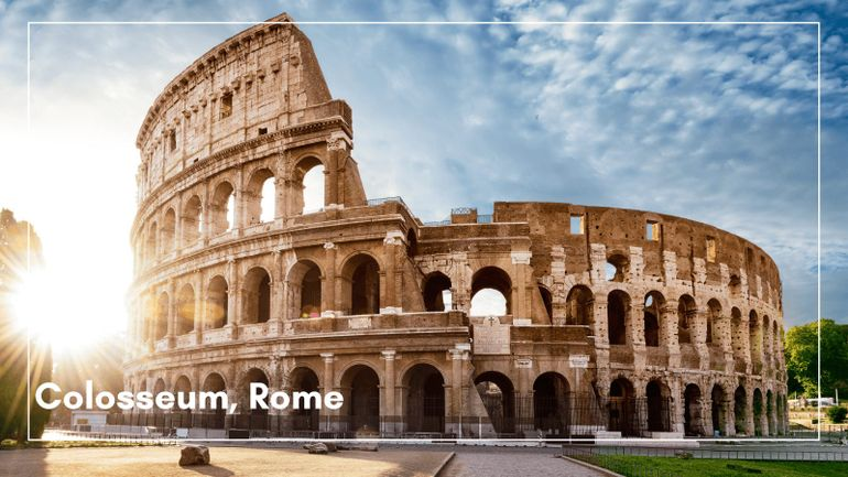 We think The Colosseum is one of the best UNESCO World Heritage sites to visit; would you agree?
