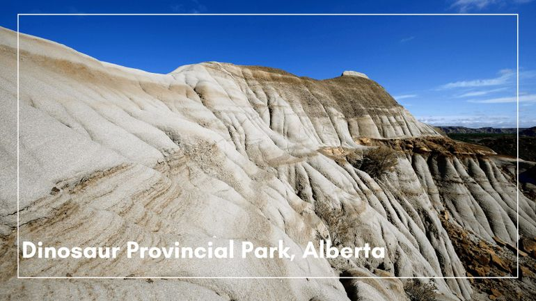 Dinosaur Provincial Park features on our list of our best UNESCO sites to visit