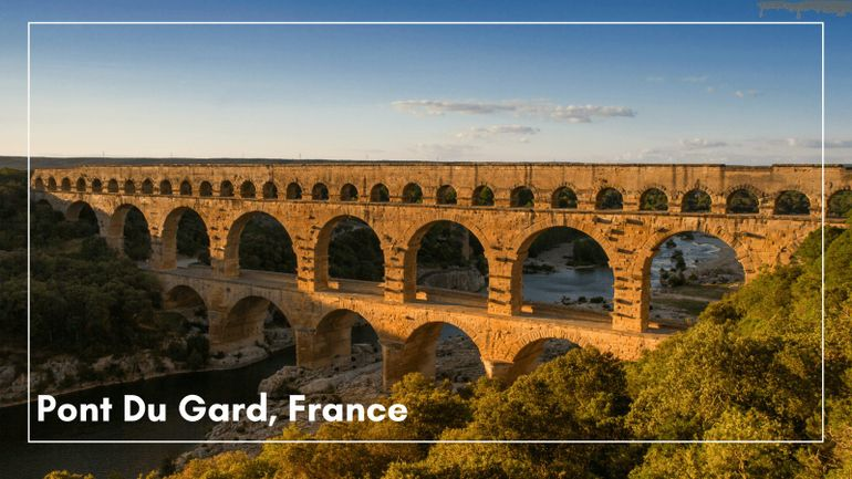 Do you think Pont du Gard is one of Europe's best UNESCO sites? We do!