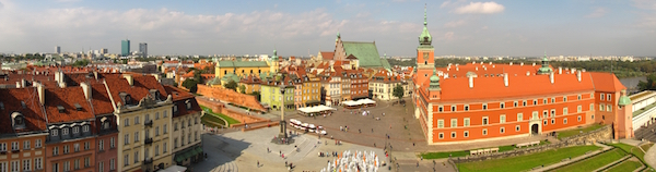 "Photo Credit: ""Warsaw Castle Square Panorama 2010"" by MichaelBueker"