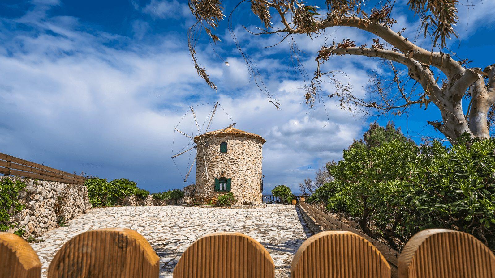 Windmills of Skinari