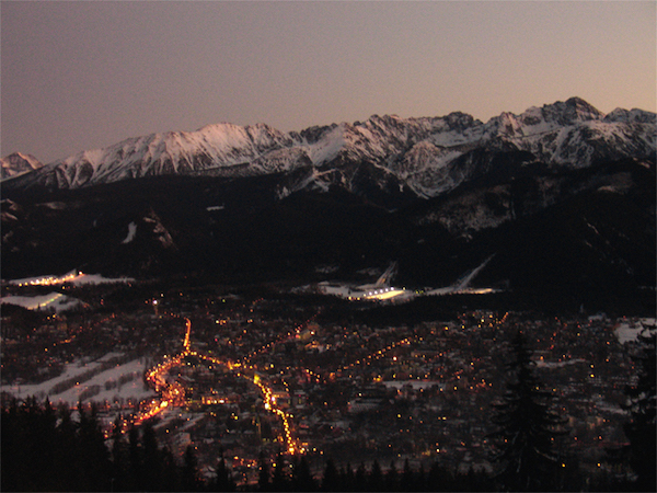 "Photo Credit: ""Zakopane at night"" by Mgiganteus"