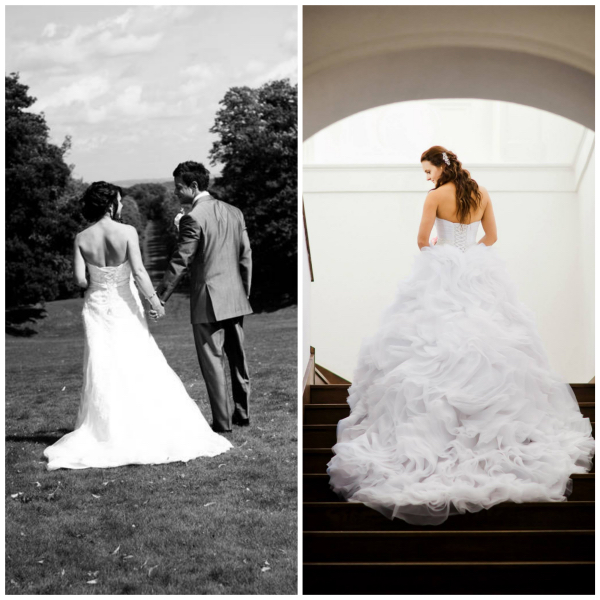tips on how to transport your wedding dress if you choose a destination wedding