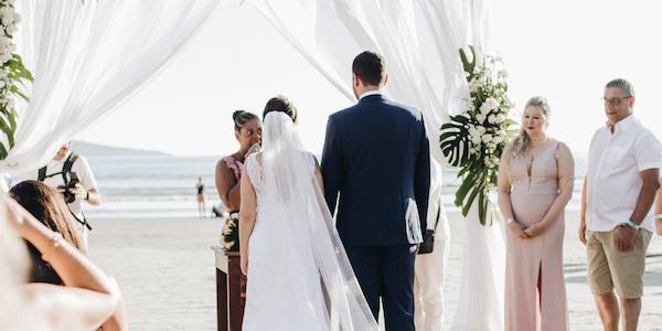 destination weddings - beach wedding