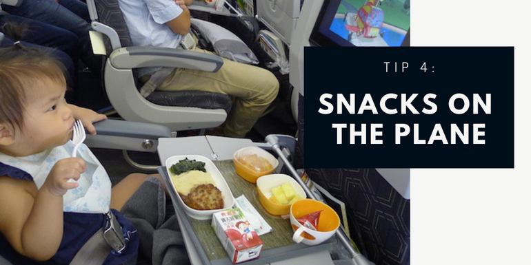 Entertaining children on journeys - bring snacks