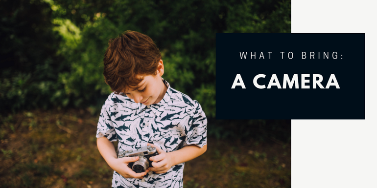 Kids will love snapping away on their very own camera