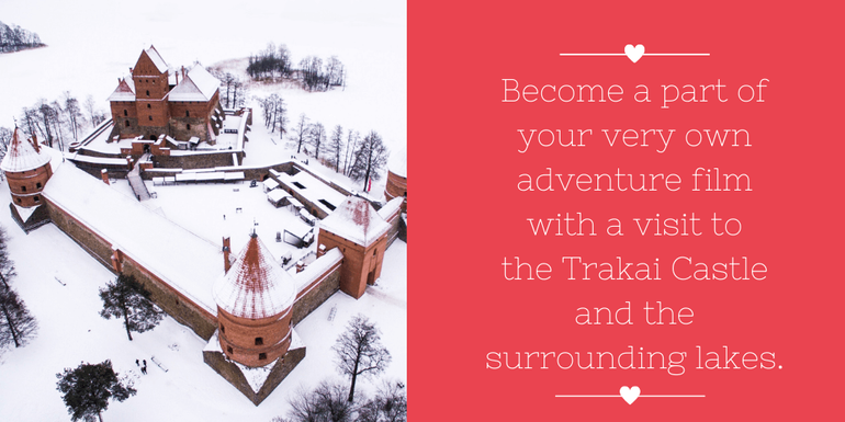 Valentine's Day Getaways: Recreate your own fairytale at Trakai Island Castle