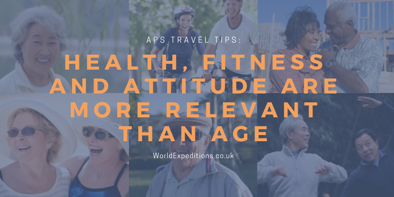 Health, fitness and attitude are more relevant then age