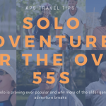 Solo adventure travel for over 55s