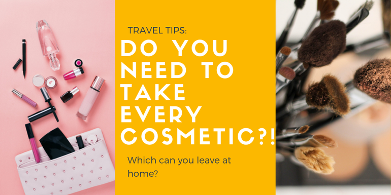 Do you need all of your cosmetics in your hand luggage?
