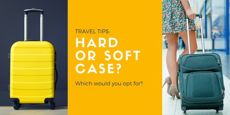 Do you prefer a hard or soft shell case on your hand luggage bag?