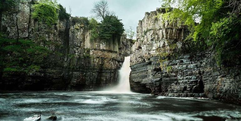 High Force Waterfall, County Durham, number one on our best staycation ideas list