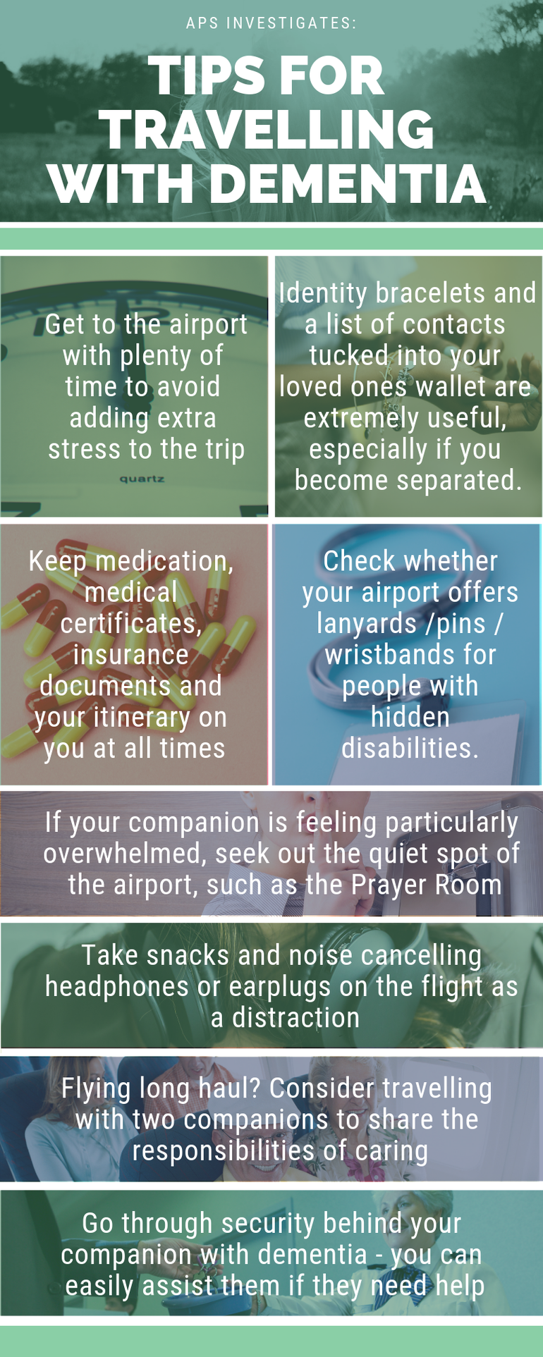Tips for travelling with dementia