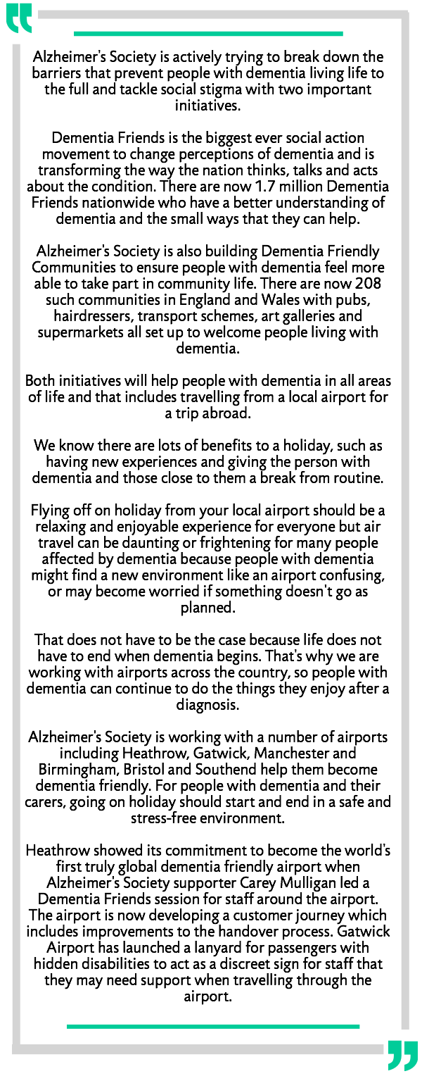 Rob Stewart from Alzheimer's Society