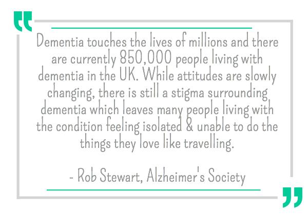 Rob Stewart quote, dementia society,