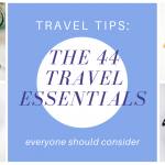 Check out these 44 travel essentials