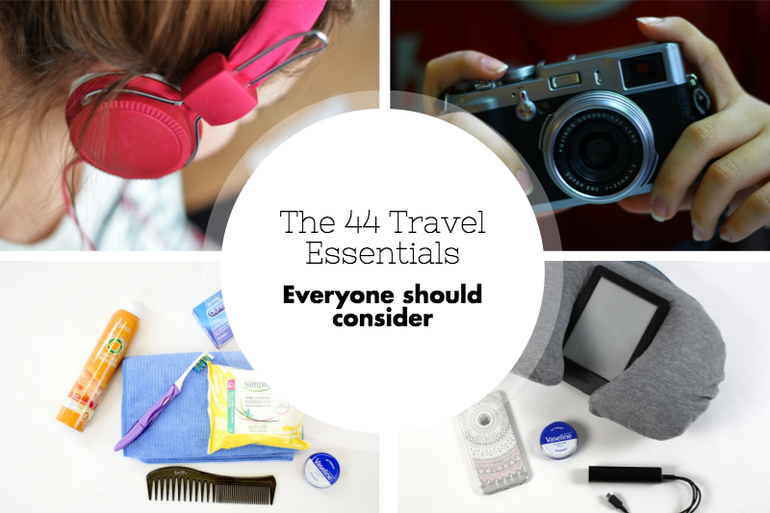 44 travel essentials you need to consider