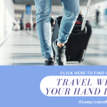 discover how to travel with just hand luggage