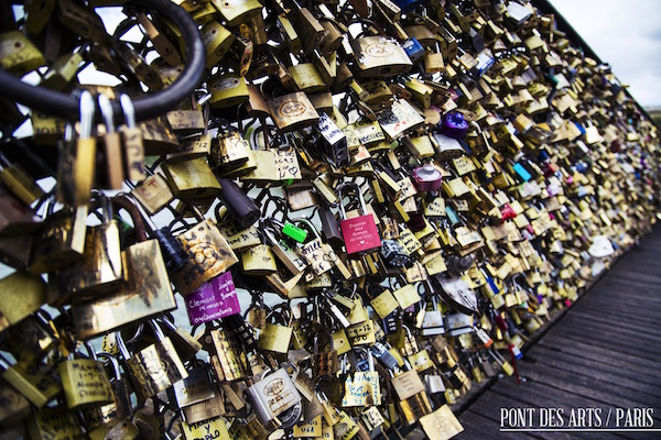 Over tourism in Paris led to the Pont des Arts bridge almost collapsing under the weights of thousands of love locks left by tourists