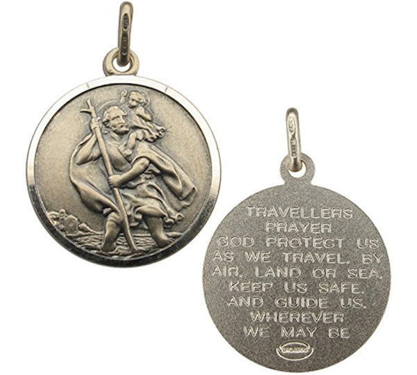 antique_finish_sterling_silver_24mm_round_st_christopher_with_travellers_prayer_medal_pendant_in_gift_box__amazon_co_uk__jewellery