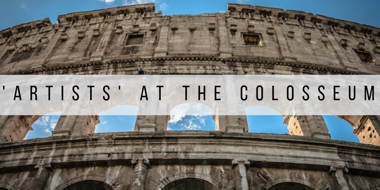 Over tourism is causing 'artists' to destroy the Colosseum