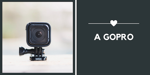 travel gifts for Valentine's Day - go pro