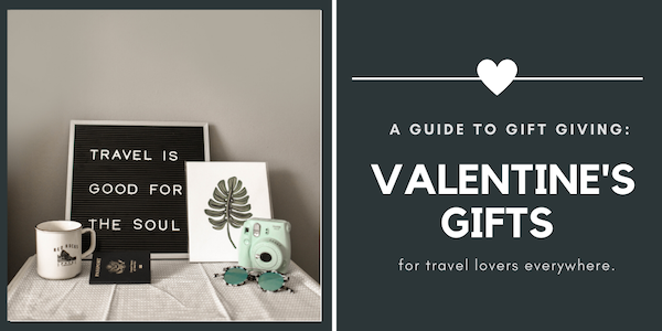 travel gifts for Valentine's Day