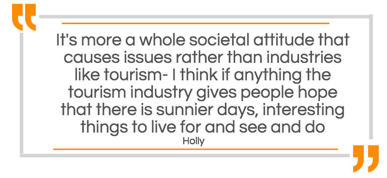 Societal attitudes cause issues, not industries