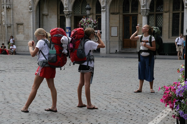 Backpacks are great if you need them! If you don't you just look like another typical tourist - which also makes you a prime theft target!