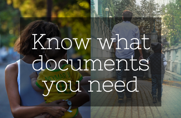 Know what documents to carry when travelling with your child with a different surname