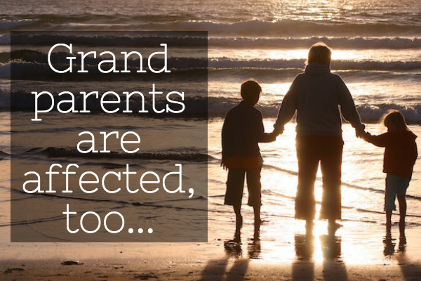Grandparents are also affected when travelling with a child with a different surname to them